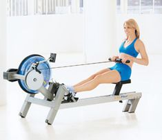30-Minute Workout: Row Your Way Toned. If you want to seriously torch calories, here's a trick: the rower. We're talking 8 calories per minute. #SelfMagazine