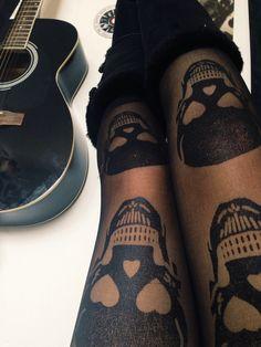 skull tights