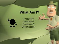 This is an interactive 27 slide Powerpoint presentation which features crisp, clear pics and displays the correct answer for each slide. The presentation has a fun background geared for elementary students. Great way to review or to introduce examples of producers, consumers, decomposers, and ecosystems.