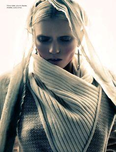 Abbey Lee Kershaw by Sebastian Kim for Numéro No.126