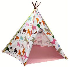 Pow Wow kids play tent