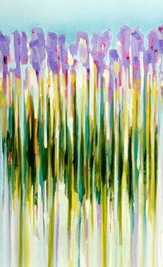 cc art, color, inspir, tall flower, faith remind, zoe pawlak