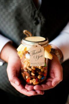 Fall Weddings: Edible Favors