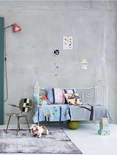 decor, grey walls, interior, room colours, kids day, kid rooms, children, babi, bedroom