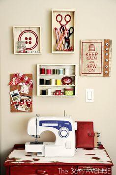 Sewing room idea