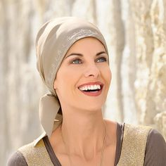 Khaki head scarf // Wigs and Hair Replacement