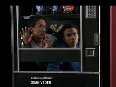 "Troy and Abed get stuck in a vending machine. ""Why'd we do this again?"""