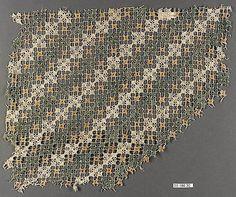 Multicolored embroidered net, Italian 16th c.