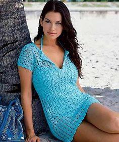 Hooked on crochet: Crochet top / Blusa de crochet (saida de praia)