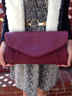 Colorful clutch by Urban Expressions $39. It's a fantastic way to jazz up your look.