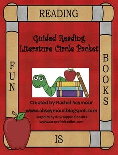 Chapter Book and Picture Book Literature Pack with 6 jobs for students.  Includes posters and bookmarks!  www.abseymour.blogspot.com