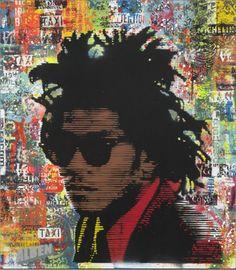 Artist Alben...Portrait Basquiat