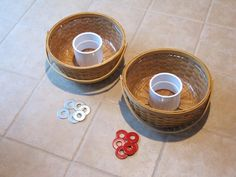 DIY washer toss game