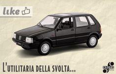 #Fiat uno #auto #vintage #collezione #edicola