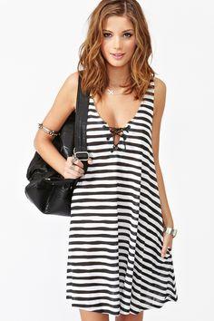 Skelly Stripe Dress