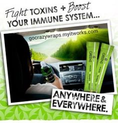 Fight toxins and boost your immune system anywhere with It Works! Greens.  https://gocrazywraps.myitworks.com. salon, diet, immune system, weight loss, daily routines, weightloss, skin care products, berries, spa