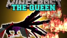 Minecraft: THE QUEEN (INTENSE BOSS, POWERFUL CRYSTALS, & MORE!) Mod Show...