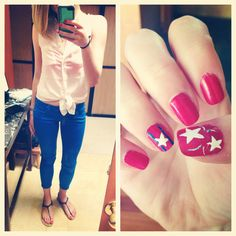 Happy 4th of July!! #nailart #matchmyoutfit