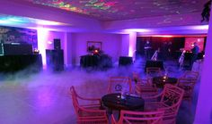 Super fogger and purple uplighting made this event. Thank you Terry Tunks with Spectrum Sound  in Evansville, Indiana for being my wizard of OZ. I owe you HUGE.