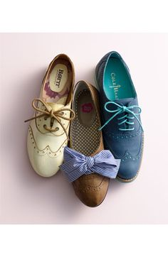Lovely oxfords.