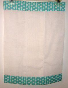 DIY Burp cloth