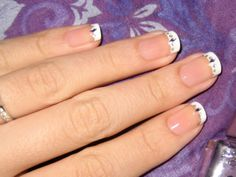 how-use-to-apply-french-manicure-on-nails-with-gem-stone