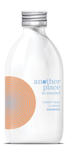 Another Place Carrot seed and lemon shampoo - 300ml . £11.50