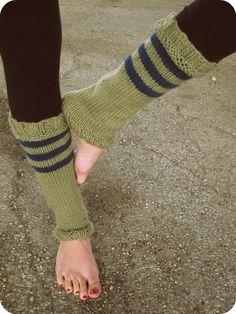 Leg Warmers Knit Leg Warmers Tan Leg Warmers by AutumnAndAmber, $38.00