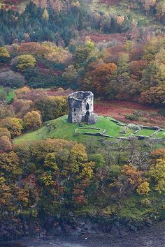 Castell Dolbadarn was built by the Welsh prince Llywelyn the Great during the early 13th century, at the base of the Llanberis Pass, North Wales.