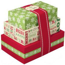 Christmas Cookie Box Kit Stacked by Wilton 415-0353