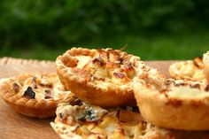 cheese and apple tartlets - belleau kitchen