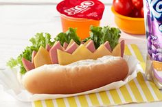 Cute sub for little fingers. (Can be grilled)
