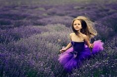 girl in a lavender field (love this)