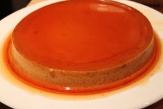Leche flan: Filipino custard dessert similar to creme brulee that's either baked or steamed