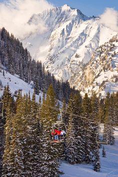 Alta Ski Resort Wasatch Mts, Alta, Utah