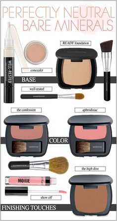 What I love about bareMinerals is not only is it cruelty-free and affordable, their sets come with great brushes that just puts this company over the top for me. www.bareminerals.com https://www.sephora.com