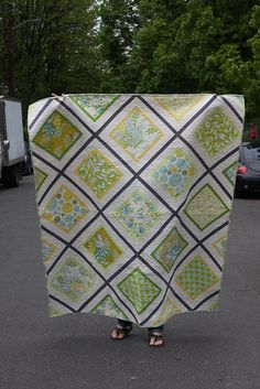 great quilt for large prints