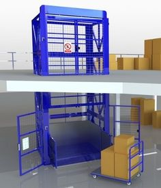 To facilitate the effective movement of products to and from mezzanine floors, Transdek has developed a range of lifts that offer a cost effective, quick to install and easy to operate solution.