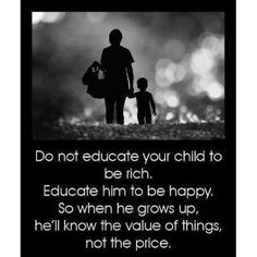 Parenting Tips: Teach them what really matters.