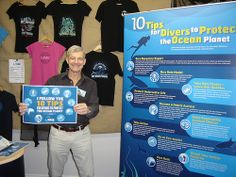 Follows the 10 Tips for Divers to Protect the Ocean Planet - LIDS 2014 #DiveShow #ProjectAWARE