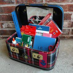 traveling art supplies....
