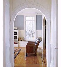 Mix and match off-the-shelf trim to create stylish door casings. | Photo/Architects: Brian Vanden Brink | thisoldhouse.com