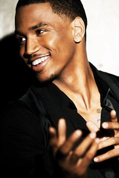 Trey Songz... I'd let you sing to me any day. All day.
