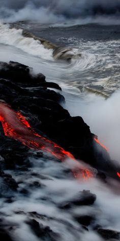 volcano lava Kilauea, Hawaii