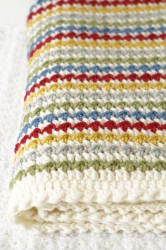 Winifred Baby Blanket Crochet Pattern Instant by LittleDoolally, $4.99 Etsy