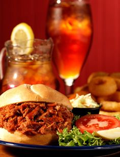 pulled-pork sandwich    Like, repin, share! :)