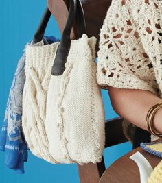 Can't wait to make this cute #knit purse!