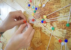 DIY Photo World Map