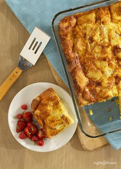 Family Breakfast Casserole - Start your morning right with this delicious breakfast recipe!