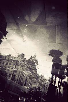 London in Puddles // Gavin Hammond
